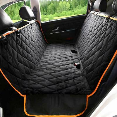 Dog Car Seat Cover with Side Flaps, 100% Waterproof Pet Seat Covers for Back Sea