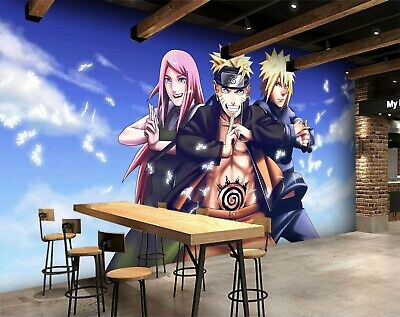 3D Naruto Classic 2477 Japan Anime Game Wallpaper Mural Poster Cartoon Cosplay