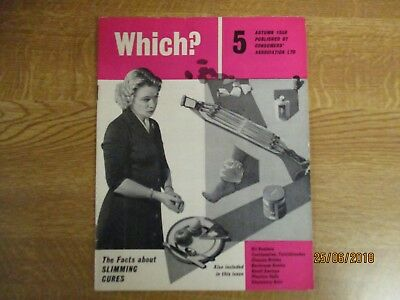 September 1958, WHICH MAGAZINE, Issue 5, Bathroom Scales, Plastic Dolls.