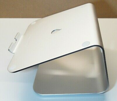MacBook Pro Laptop Stand with Swivel Base.Rain Design mStand360 Silver