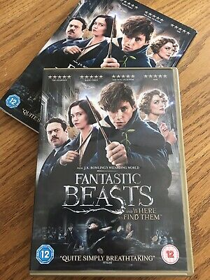 Fantastic Beasts And Where To Find Them DVD.