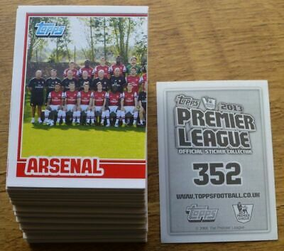 Topps Premier League 2013 Stickers - Complete Your Collection