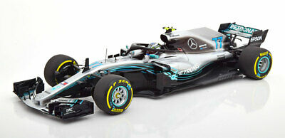 1:18 Minichamps Mercedes AMG W09 EQ Power+ Bottas 2018
