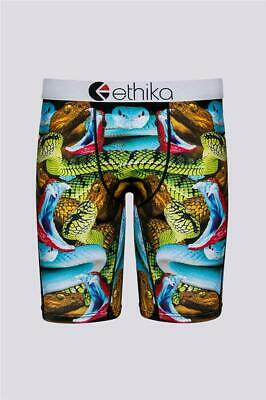 6068ca1889fa Ethika Staple Varied Colors VIPER SNAKES Boxer Briefs Men's S NWT SOLD OUT
