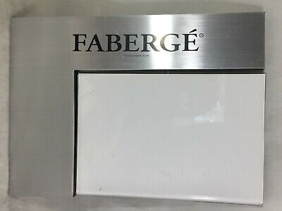 "Faberge Universal Retail Acrylic Frame 4"" x 6"" Sign Holder Card Display"