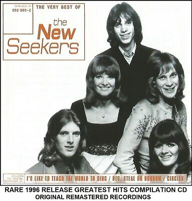 The New Seekers - Very Best 20 Greatest Hits Collection RARE 1996 CD - 70's Pop