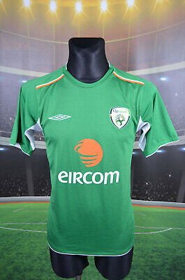 Ireland Eire Umbro 2004-06 Home Football Soccer Shirt (S) Jersey Top Trikot Vtg