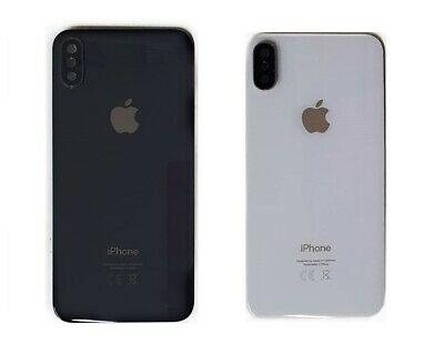 Replacement For Apple iPhone X & XS Rear Glass Back Battery Cover Case Housing