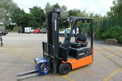 2012 Doosan B15T-5 Counter Balance Forklift. Electric. [Carmarthen]