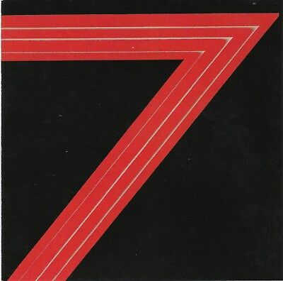 Red 7 - Red 7 1985 s/t RARE NEW CD! FREE SHIPPING!