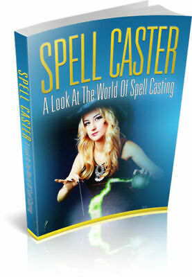 Spell Caster eBook PDF with Resell Rights Free Shipping