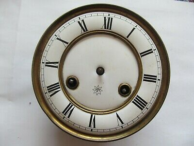 Vintage Junghans clock movement and dial face  - repair / spares