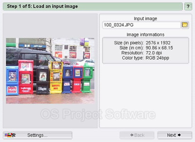 POSTER MAKER CREATOR Software convert your pictures to poster size