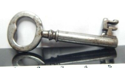 Antique Victorian Chest Padlock hollow end  flat Bow Gothic p38