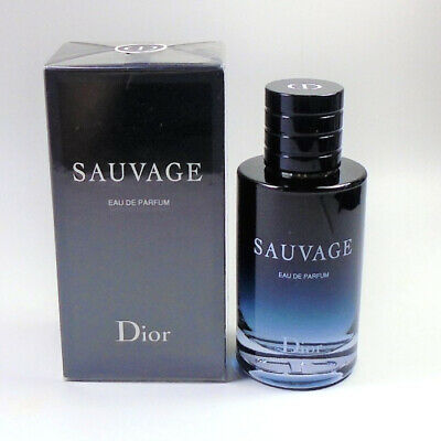 SAUVAGE by Christian Dior EDP Men Eau de PARFUM 100 ml 3.4 oz NEW IN SEALED BOX