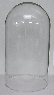 Glass Dome Replacement for Anniversary Clocks  5-1/2 x 10 in.  Kundo