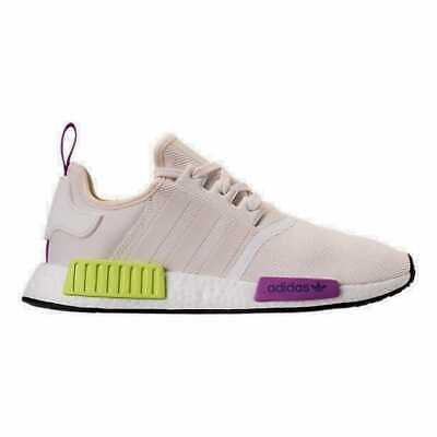 6b56abfa28eff D96626  NEW MENS Adidas Originals Nmd R1 Chalk White Solar Yellow ...