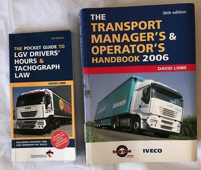 The Transport Manager's and Operator's Handbook 2006 by David Lowe excellent con