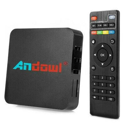 MINI TVBOX android 8.1 2G 16G 4K ULTRAHD smart tv wifi telecomando