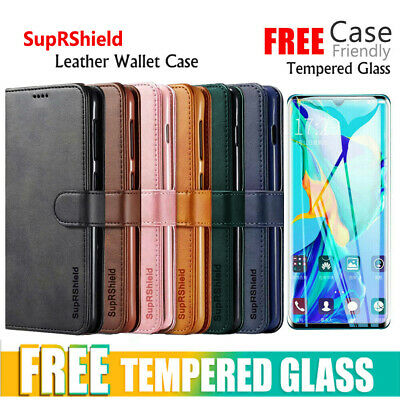 For Huawei P30 Mate 20 Pro Velvet Type Wallet Case Flip Card Slots Classic Cover