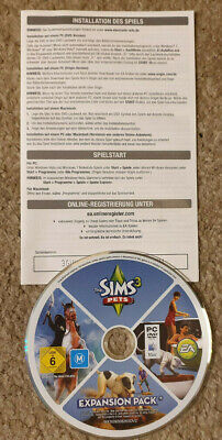 PC Game The Sims 3 Pets Expansion Pack