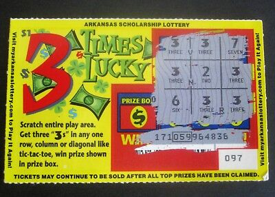 PENNSYLVANIA INSTANT LOTTERY Ticket, First game issued 1975