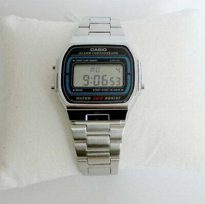 Casio A164wa-1qes Digital Retro Vintage Wrist Watch Unisex