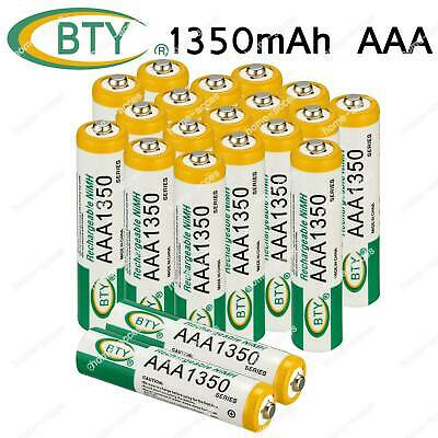 BTY 3A AAA 1350mAh Battery NiMh 1.2V Rechargeable Batteries For Toy Cars