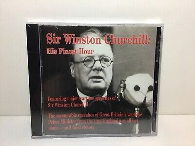 Sir Winston Churchill His Finest Hour new sealed cd