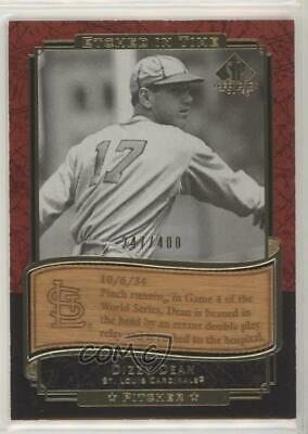 2003 SP Legendary Cuts Etched in Time Gold 400/400 #ET-DD Dizzy Dean Card