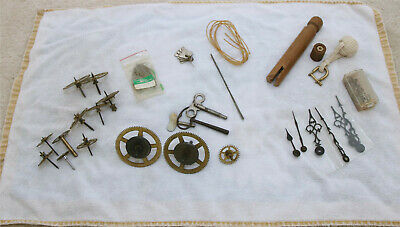 Clock Makers Tools and Parts