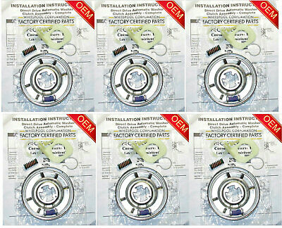 285785 OEM Genuine Original Factory Whirlpool Washer Clutch (6 PACK)