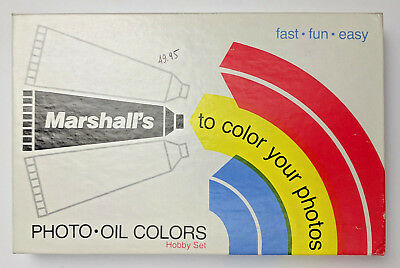 Marshall's Photo Oil Colors Hobby Set 15 Colors