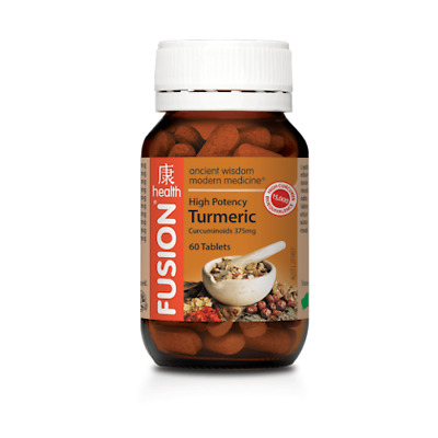 Fusion Health High Potency Turmeric 60 Tablets