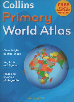 Collins Primary World Atlas - Ages 7-11 (2009 paperback)