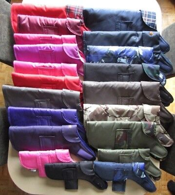 Barking Macs! Quality Waterproof Dog Coats! 6 Sizes: 29 Designs