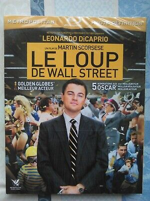Le Loup de Wall Street ( Dicaprio ) , blu-ray neuf sous blister
