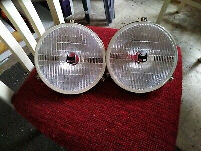 Marchal 900 headlights lights set new nos look for BMW VW Ford and other Cars