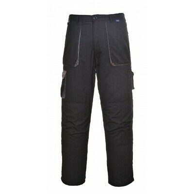 450 Black Texo Contrast Trousers Xxl TX11BKRXXL Portwest Genuine Quality Product
