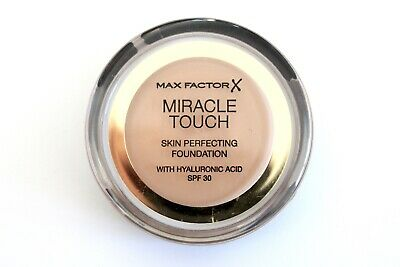 NEW! Max Factor Miracle Touch Skin Perfecting Foundation Hyaluronic Acid - Shade
