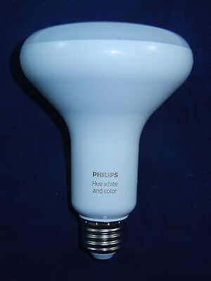 PHILIPS HUE BR30 White and Color Ambiance Smart Bulb, 456665