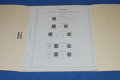 Barbados Minkus Specialty Stamp album pages to 1979