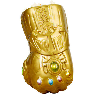 Avengers Endgame Thanos Infinity Gauntlet Popcorn Bucket LED Cosplay Golve Gifts