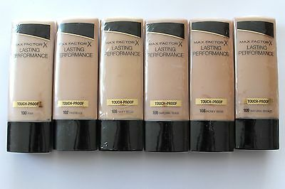 Max Factor Lasting Performance Touch-Proof Foundation 30ml - Choose Shade: