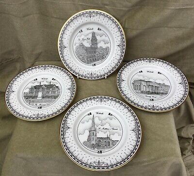 DECOR ART CREATIONS Ltd , Limited Edition Walsall Collectors Plate 4 Set