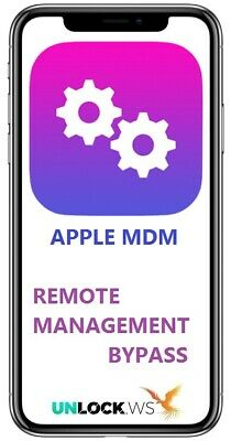 Apple Mdm Profile Remote Management Bypass Service