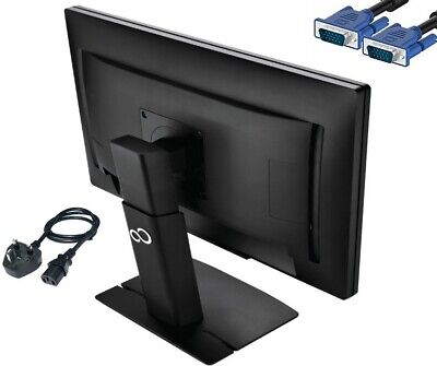 "Fujitsu B22W-6 22""  Widescreen LED LCD Monitor, built-in Speakers BLACK"