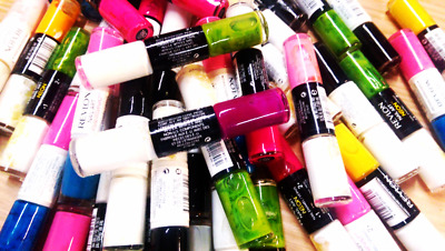 Wholesale Lot of 25 Revlon Nail Art Neon Duo Nail Polish Assorted Colors