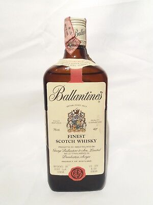 Ballantine's Finest (early 1980s)