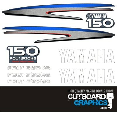 Yamaha 150hp four stroke outboard engine decals/sticker kit
